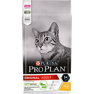 ​PURINA® PRO PLAN® ORIGINAL ADULT с OPTIRENAL®, богата на пиле