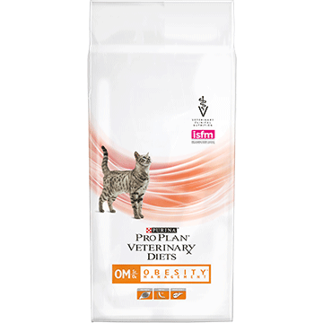 ​PURINA® PRO PLAN® VETERINARY DIETS Feline OM St/Ox за контрол на теглото