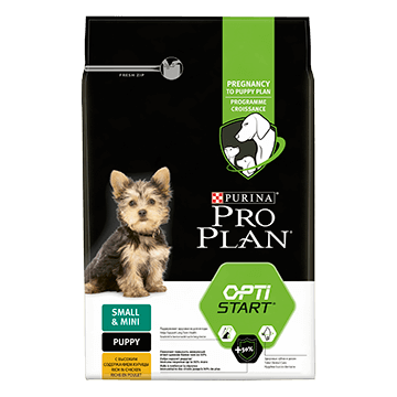 ​PURINA® PRO PLAN® Small & Mini Puppy с OPTISTART®, богата на пиле